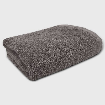 Everyday Solid Hand Towel Charcoal Gray - Room Essentials™