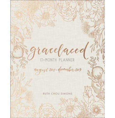 Gracelaced 17-month Planner -  by Ruth Chou Simons (Hardcover) - image 1 of 1