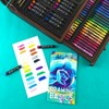 136pc Draw + Color + Paint Art Set in Wood Case - Art 101 - image 3 of 4