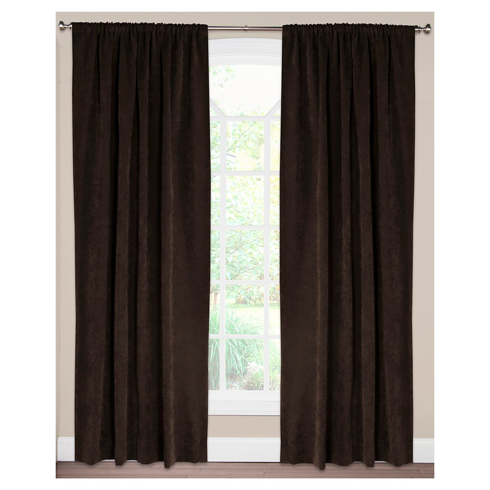 Siscovers Padma Coffee (Brown) Bean Curtain Panel - Padma Coffee Bean (52
