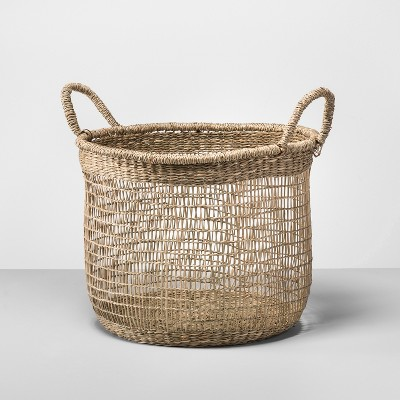 Natural Open Weave Basket - Opalhouse™