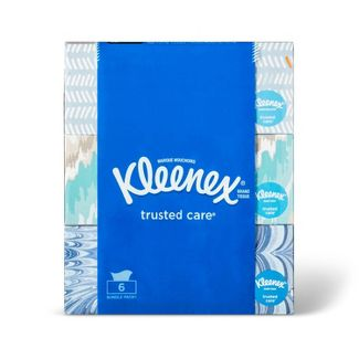 Kleenex Trusted Care Facial Tissue - 6pk/144ct