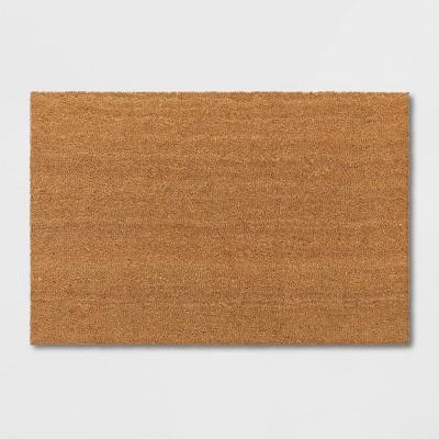23 X35  Solid Doormat Beige - Room Essentials™