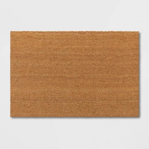 """23""""X35"""" Solid Doormat Beige - Room Essentials™ - image 1 of 3"""