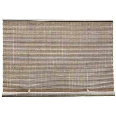 Caravel Cord-Free PVC Premium Rollup Blinds Driftwood