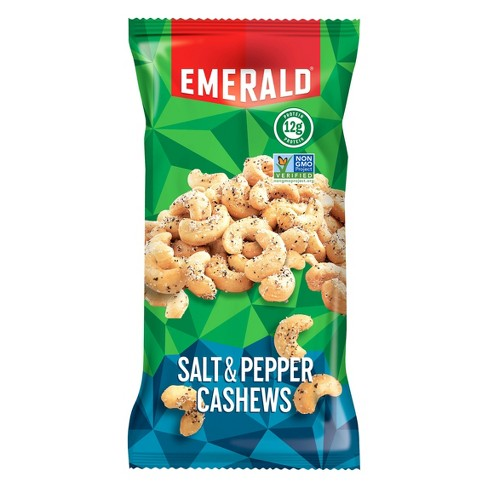 Emerald® Salt & Pepper Cashews - 2.5oz - image 1 of 1