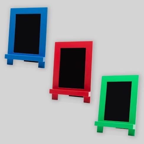 3ct Chalkboard Easels - Bullseye's Playground™ - image 1 of 4