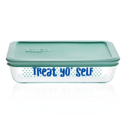 Pyrex 3cup Rectangular Food Storage Container - Treat Yo Self
