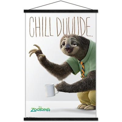 Trends International Disney Pixar Zootopia - Flash Unframed Wall Poster Print