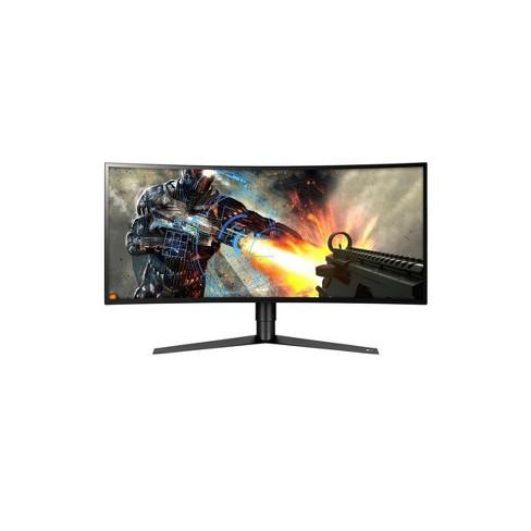 Lg Ultragear 34gk950f B 34 Class Ips Ultrawide Qhd Curved 144hz Led Gaming Monitor With Amd Radeon Freesync 2 3440x1440 Target
