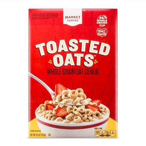 Toasted Oats Breakfast Cereal - 8.9oz - Market Pantry™ - image 1 of 1