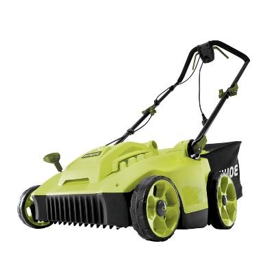 Sun Joe MJ506E Electric Reel Lawn Mower w/ Grass Catcher | 16 in | 6.5 Amp | Quad Wheel | 24 Blade.