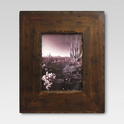 "5"" x 7"" Frame Distressed Walnut - Threshold™"