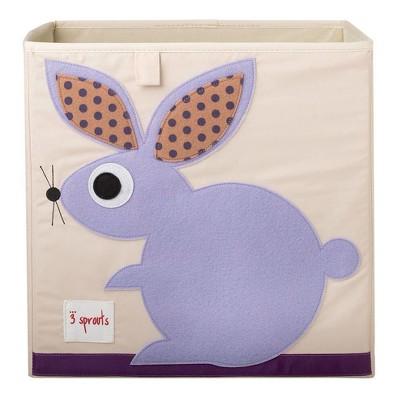 Rabbit Fabric Kids Storage Bin - 3 Sprouts