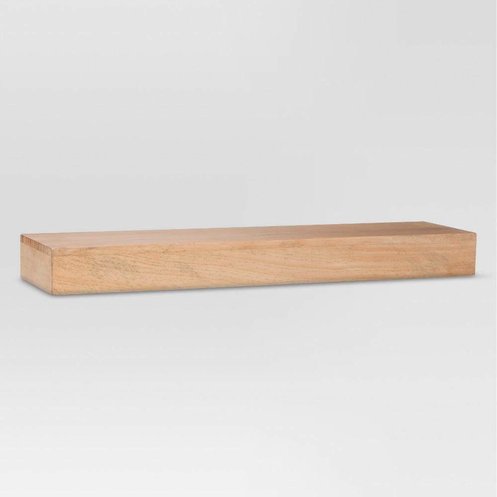 Real Wood Floating Shelf - 24 - Threshold
