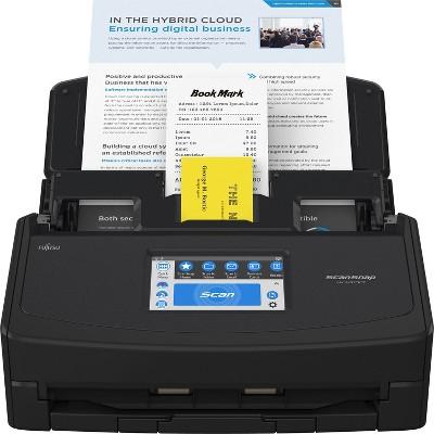 Fujitsu ScanSnap iX1600 Versatile Cloud Enabled Document Scanner for Mac and PC, Black (PA03770-B635)