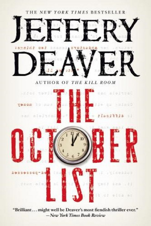 October List (Paperback) (Jeffery Deaver) - image 1 of 1