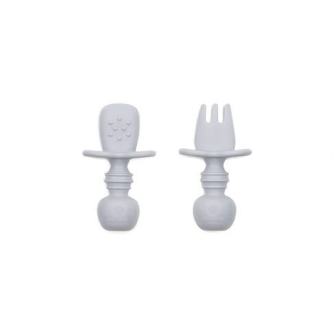 Bumkins Silicone Chewtensils - Gray - image 1 of 3