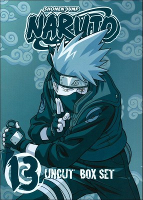 Naruto Uncut Box Set, Vol. 13 (With Trading Cards) (DVD)