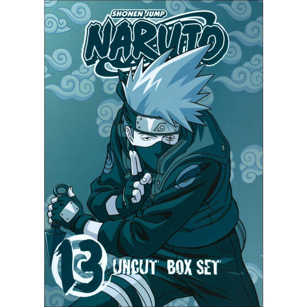 Naruto Uncut Box Set, Vol. 13 [3 Discs] [With Trading Cards]