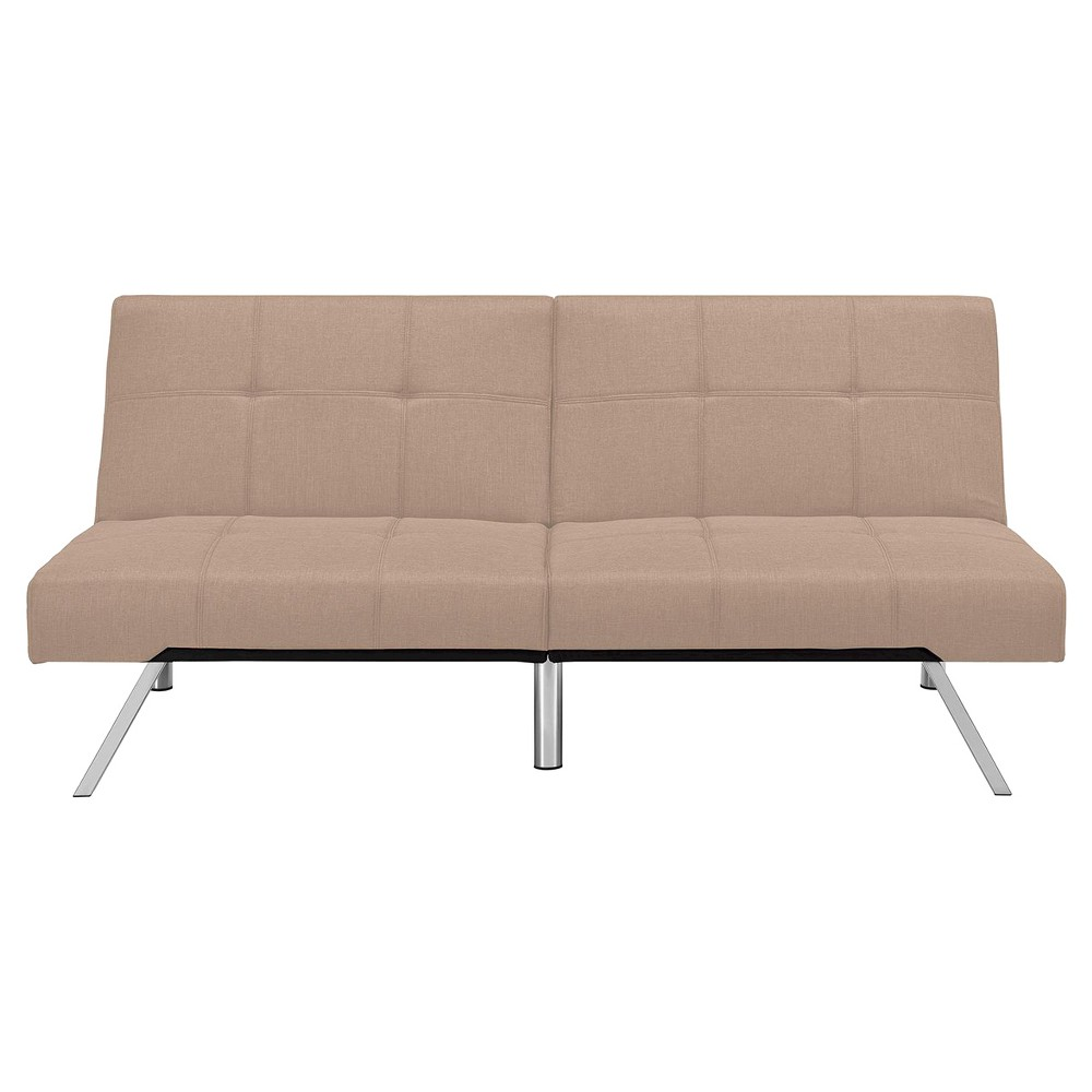 Layton Linen Futon - Tan - Dorel Home Products