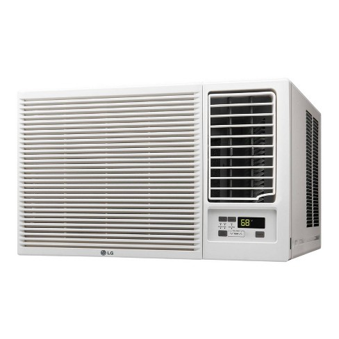 LG Electronics 18,000 BTU 230V Window-Mounted Air Conditioner with 12,000 BTU Supplemental Heat Function - image 1 of 3
