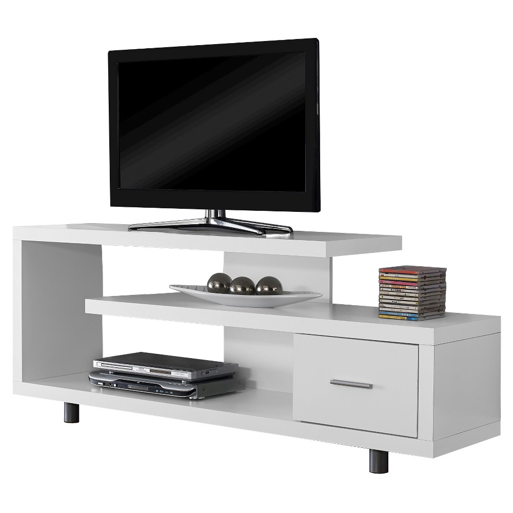 TV Stand - White (60) - EveryRoom