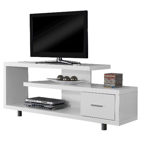 "TV Stand - White (60"") - EveryRoom - image 1 of 1"