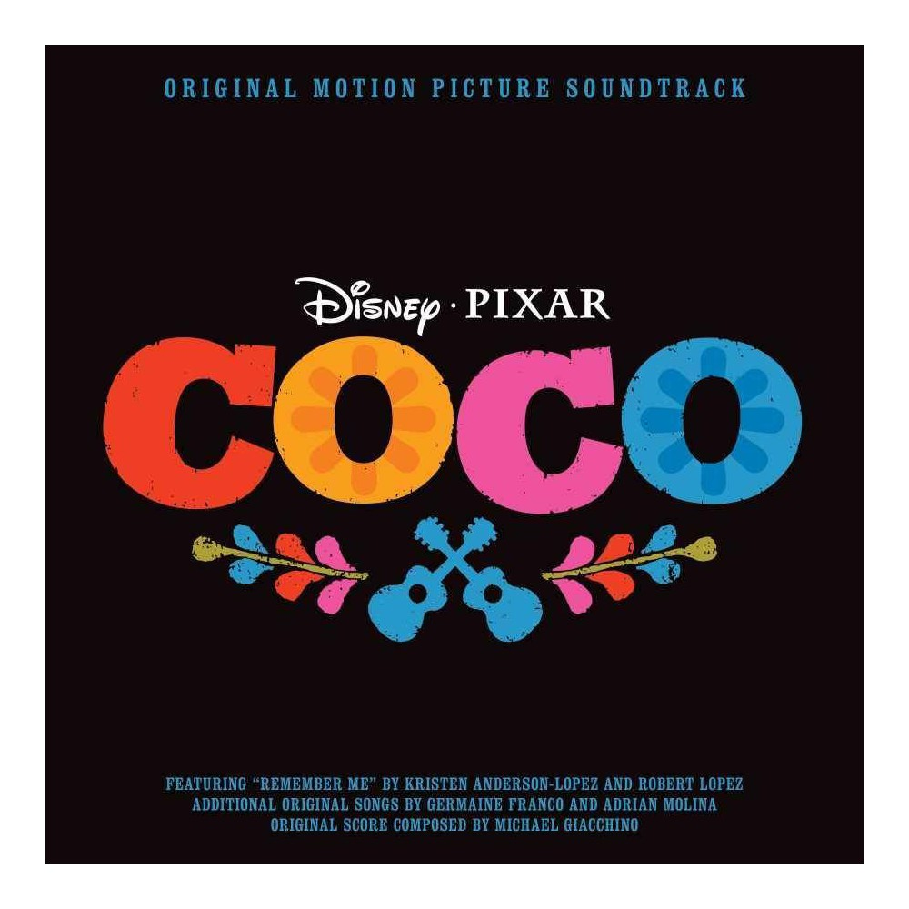 Various Artists Coco The Soundtrack Target Exclusive Cd