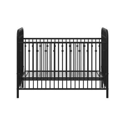 Monarch Hill Ivy Black Metal Baby Crib