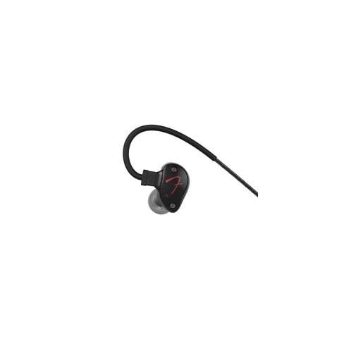 Fender PureSonic Wired Earbuds, Black Metallic - image 1 of 1