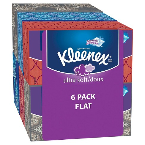 Kleenex Ultra Soft & Strong Facial Tissue - 6pk / 170ct - image 1 of 1
