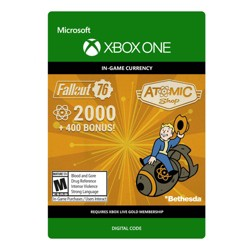 Fallout 76: 2,000 Atoms - Xbox One (Digital)