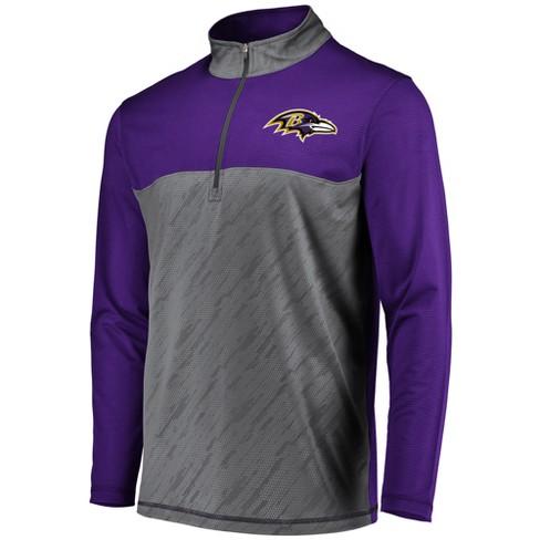 NFL Baltimore Ravens Men s Striped Geo Fuse  Gray 1   Target db0de742a
