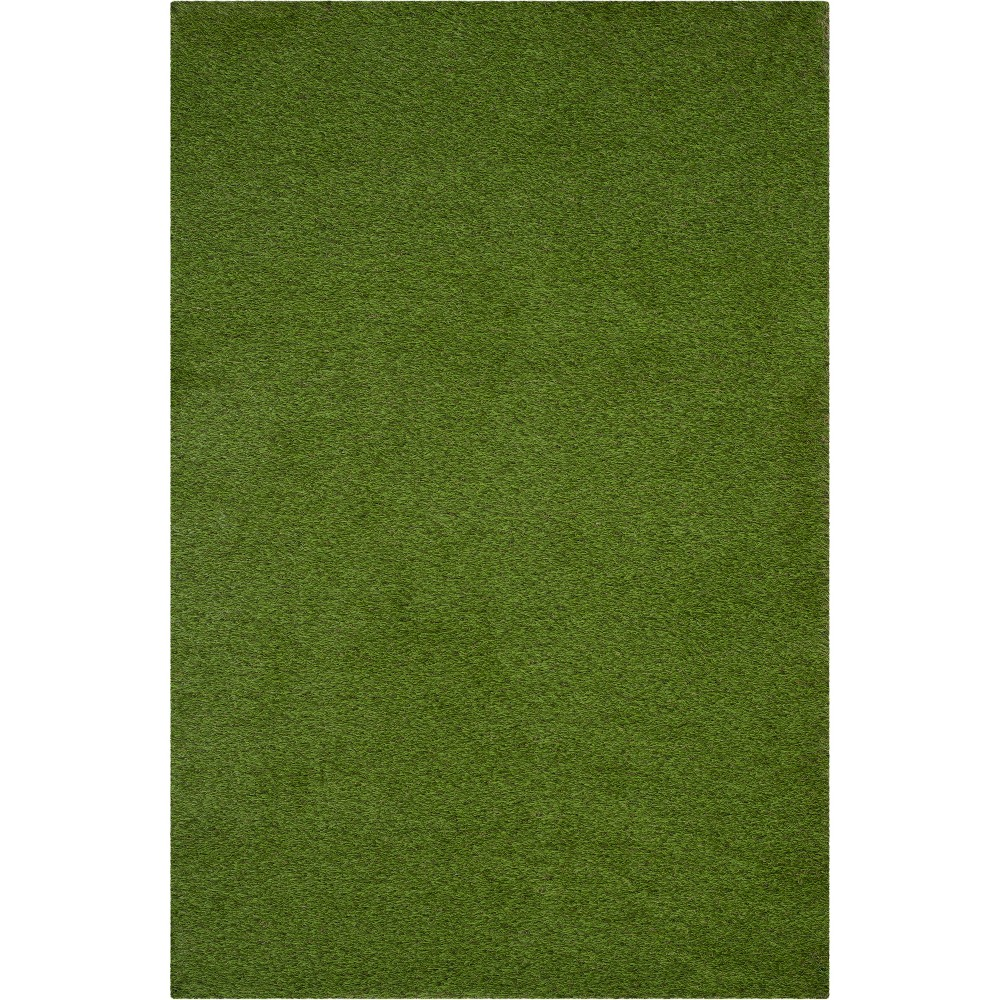 5'X7'6 Solid Loomed Area Rug Green - Safavieh