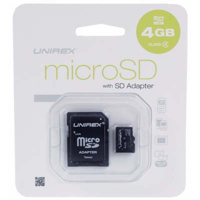MicroSD Class 4 with SD Adapter