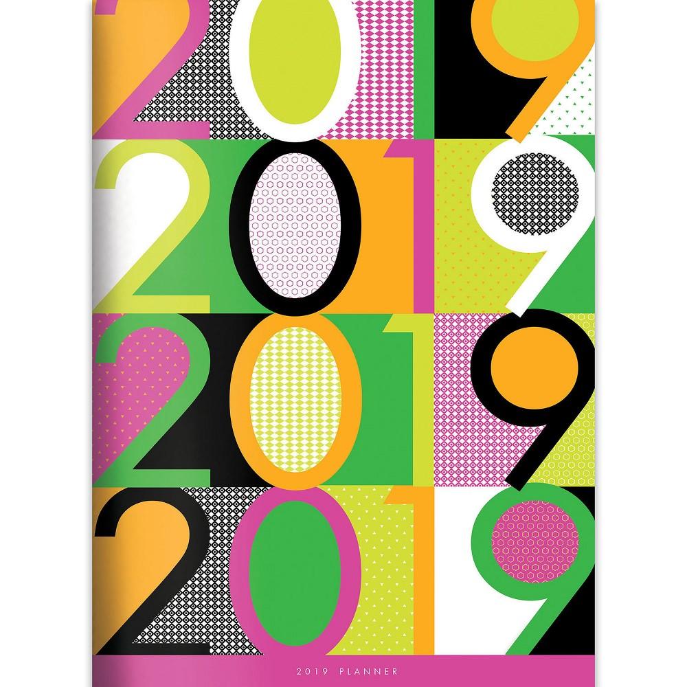 2019 Planner Color Pop - TF Publishing