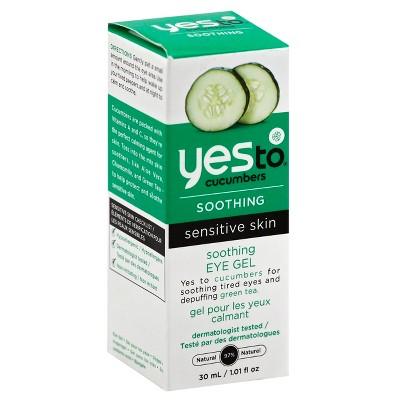Yes to Cucumbers Soothing Eye Gel - 1 fl oz