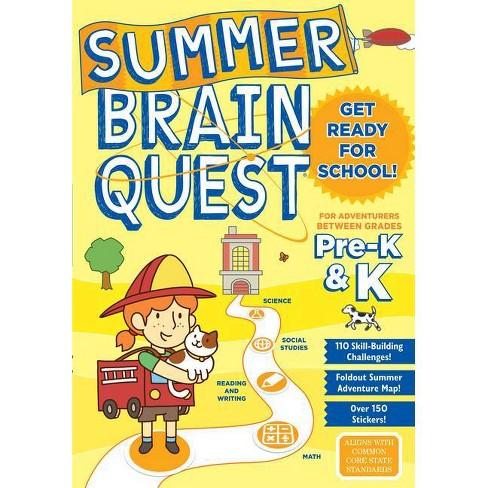 Summer Brain Quest Pre K & K - image 1 of 1