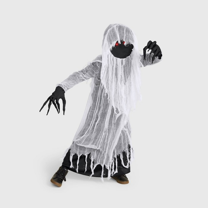 Boys' Light Up Faceless Ghost Halloween Costume - Hyde & EEK! Boutique™ - image 1 of 1