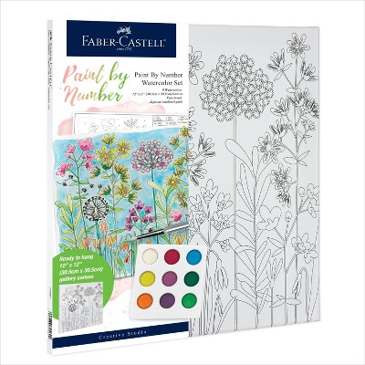 Faber-Castell Paint by Number Watercolor Set - Farmhouse
