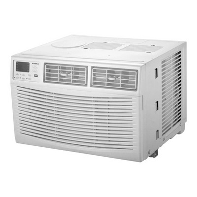Amana 8,000 BTU 115V Window-Mounted Air Conditioner AMAP081BW with Remote Control