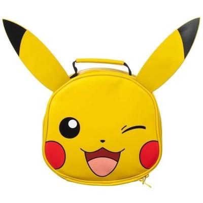 Bioworld Pokemon Pikachu Big Face Insulated Lunch Bag