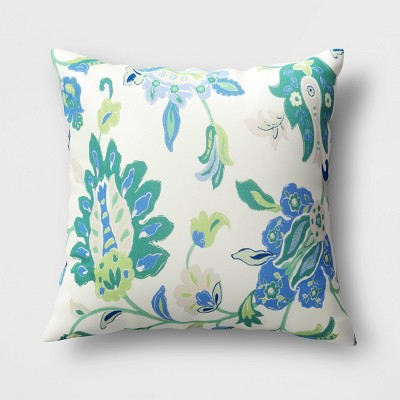 Decorative Throw Pillow Jacobean Floral - Threshold™