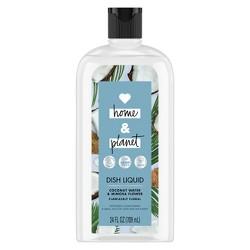 Love Home & Planet Coconut Water & Mimosa Flower Dish Liquid - 24 fl oz