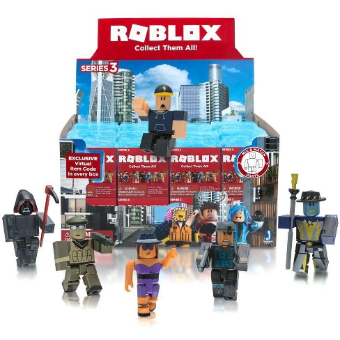 Details About Roblox Celebrity Collection Series 3 Mystery Pack Purple Cube - Roblox Series 3 Mystery Box Blue Cube 24 Packs