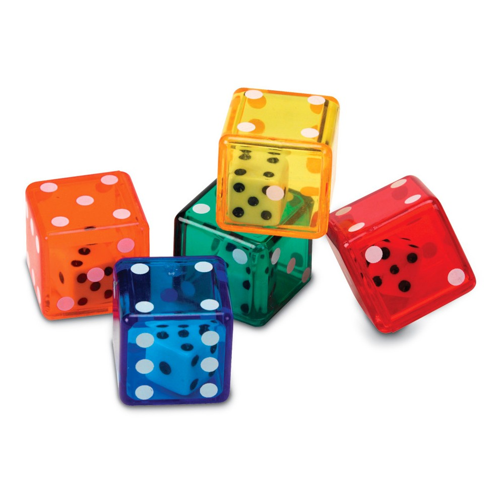 Learning Resources Dice In Dice - Math Learning Tool