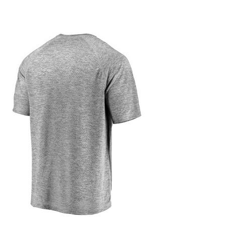 234c8b299b27 MLB Cleveland Indians Men's Mad Dash Gray Athleisure T-Shirt : Target