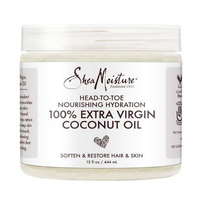 SheaMoisture 100% Extra Virgin Coconut Oil - 15 fl oz