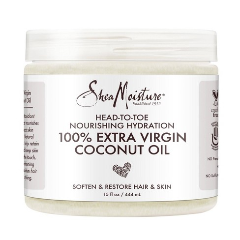 SheaMoisture 100% Extra Virgin Coconut Oil - 15 fl oz - image 1 of 4